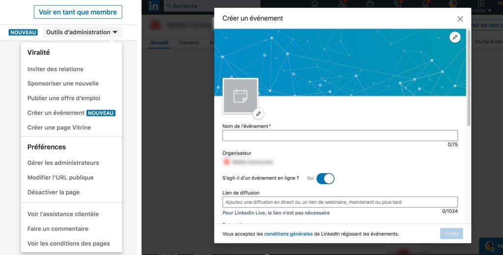 Comment créer un événement LinkedIn sur sa page pro